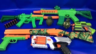 Box of Toys 🚨 Box Full of Toys 🔫 Toy Guns 💥 Toy Weapons 🚛 Military Weapons 💥 Toys for Kids