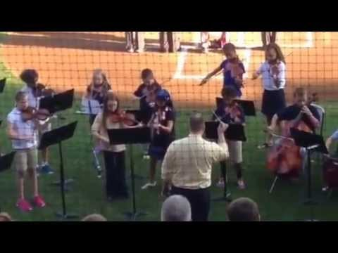 """Harrisburg Academy Lower School Orchestra performs the """"Sta - 05/27/2014"""