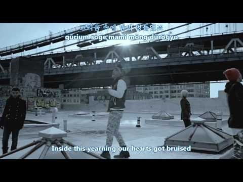 Big Bang - Blue MV [english subs + romanization + hangul]