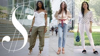 What a $4,000 Outfit Looks Like in New York City | This Look Is Money | Harper