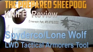 Spyderco LWD Tactical Armorers Tool