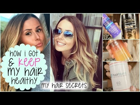 HOW I GOT MY HAIR LONG & HEALTHY (EVEN AFTER BLEACH!)