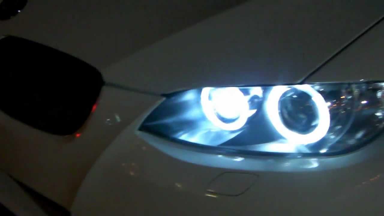 My Bmw 335i Coupe Angel Eyes Install Youtube