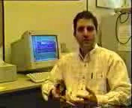 Murray Goldberg presenting WebCT at CICEI in 1998
