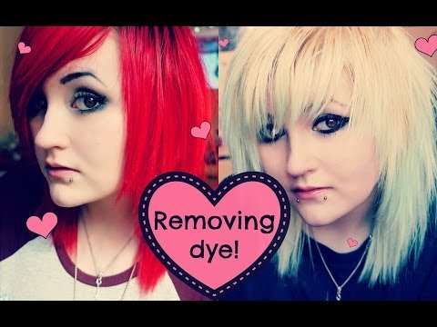♥ How I Fade & Remove My Hair Dye! ♥
