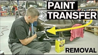 How to Remove Paint Transfer and Scuffs in 10 Minutes