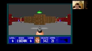 Gameplay Wolfenstein 3D retro