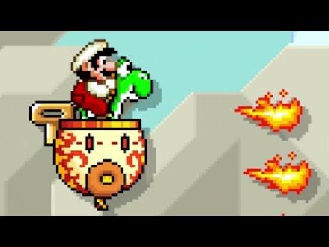 Super Mario Maker - 100 Mario Challenge #214 (Expert Difficulty)