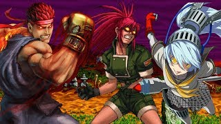 Top Ten Evil Versions of Fighting Games Characters
