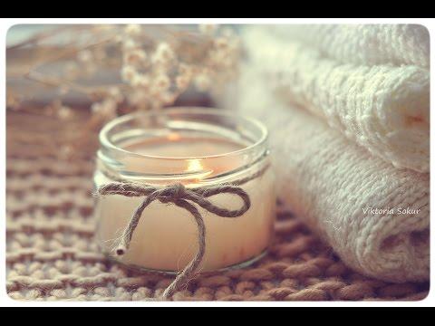 Vekoria | мастер-класс ароматическая свеча | DIY scented candle