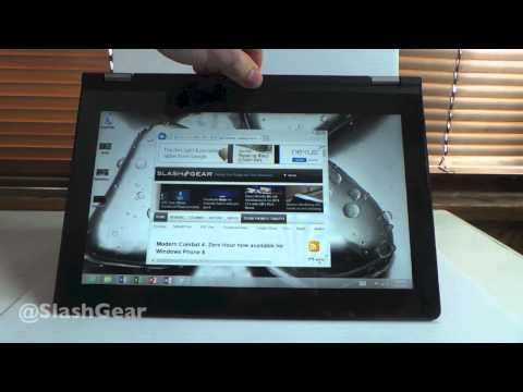 Lenovo IdeaPad Yoga 11 hands-on for review