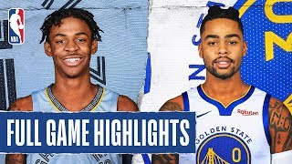 GRIZZLIES at WARRIORS | FULL GAME HIGHLIGHTS | December 9, 2019