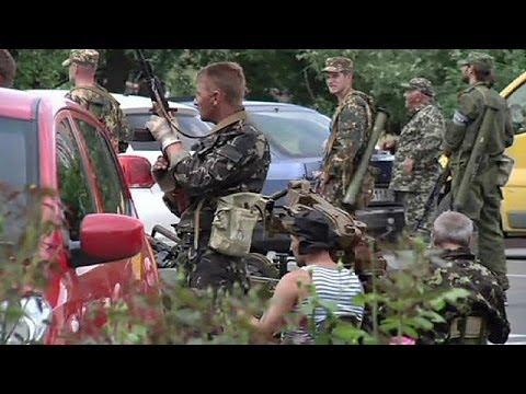 Tensions high in Donetsk as rebels claim to repatriate dead