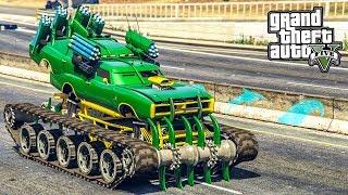 รถพันธุ์โหด ช่างอั๋นโมดิฟาย (Dukes Warmachine GTA V Mod)