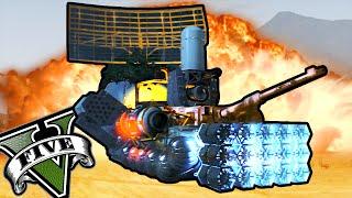 GTA 5 Online - TUNEANDO UN TANQUE!! DESTRUCTOR DE MUNDOS ILLUMINATI! - NexxuzHD