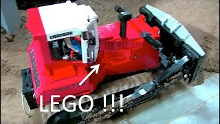 AWESOME RC LEGO Bulldozer at the construction site - moc