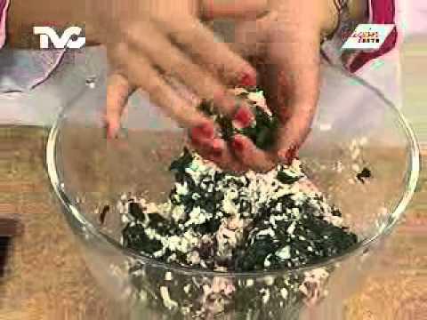 Receta para preparar Bolitas de Espinaca