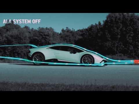Lamborghini Huracan Performante Technical Highlights - Active Aerodynamics
