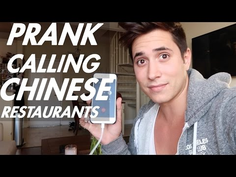 MERGED 2 CHINESE RESTAURANTS. PRANK CALL || Zak Longo