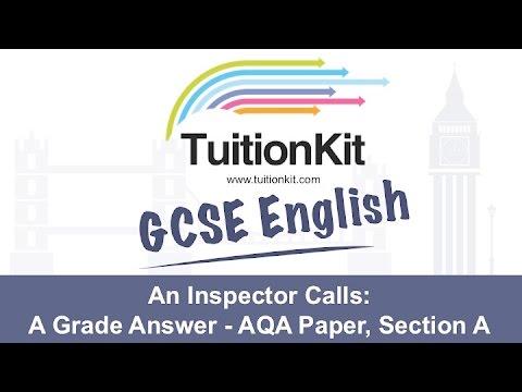 an inspector calls gcse essay questions