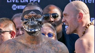 Deontay Wilder vs. Tyson Fury * WEIGH - IN *  Los Angeles | BOXING