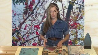 ToolGirl Mag Ruffman - Transferring Photo Images to Wood