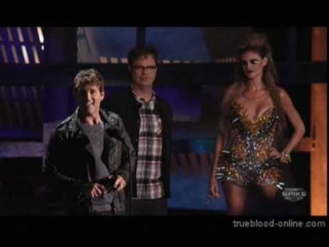 Stephen Moyer Accepts Best Holy Sh*t Scene Award at the 2010 Scream Awards