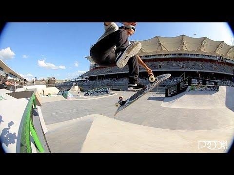 Paul Rodriguez X Games Austin 2014 Clip