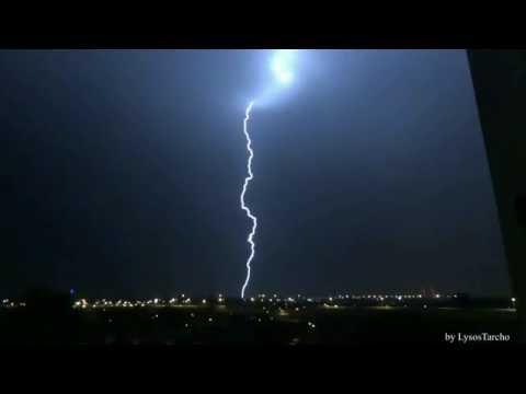 Nocne Burze W Warszawie -27/28.05.2016- Night Thunderstorm Warsaw