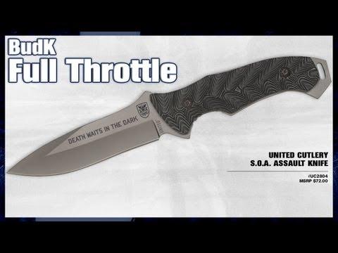 United Cutlery S.O.A. Titanium Assault Knife - $39.99