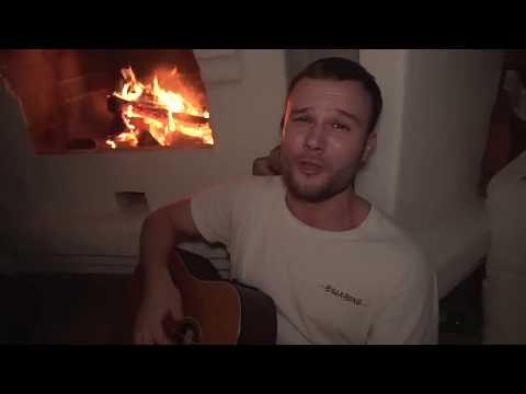 Макс Корж поет в живую под гитару (Квартирник)