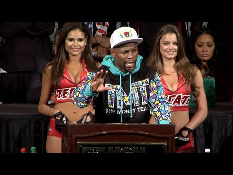 Floyd Mayweather vs. Andre Berto COMPLETE Post Fight Press Conference video