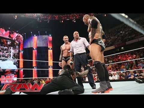 The Shield Competes In A 11-on-3 Handicap Match: Raw, April 14, 2014 video