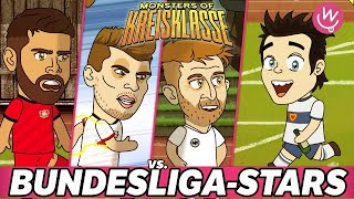 Monsters of Kreisklasse: Bundesliga-Stars vs. Borussia Hodenhagen