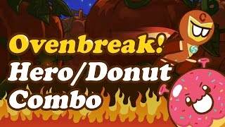 Cookie Run: Ovenbreak!: Hero Donut Combo - The Mobizen Team Races for First