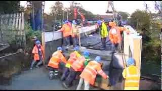 Coffee Construction - Replacement of Railway Bridge.