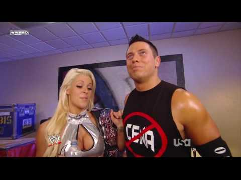06/08/09 The Miz & Maryse Backstage