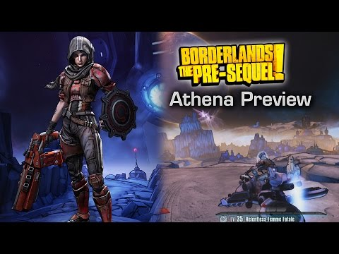 Athena's Killer Shield - Borderlands The Pre-Sequel Preview