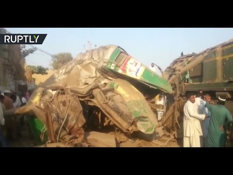 RAW: Aftermath of train accident in Pakistan