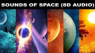 Sounds Of Space   (3D AUDIO)   Planets,Stars & Black Hole   Science Of Space