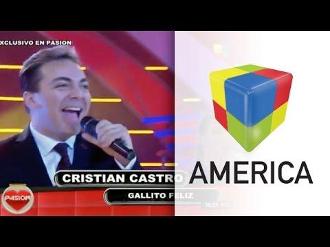 ¡No es sólo cumbia! Pasión presentó a Cristian Castro en el escenario