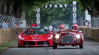 Ferrari at the Goodwood Festival of Speed - 70th Anniversary Celebrations