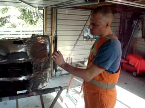 Bondo - Dent repair training 6
