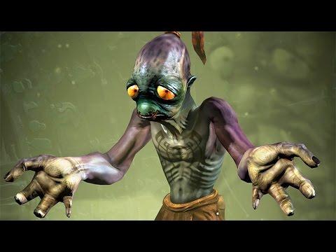 Oddworld Abe's Oddysee: Primeira Gameplay - Playstation 4