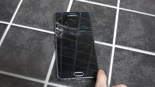 Samsung Galaxy A5 2016 Bathroom Floor - Drop Test!