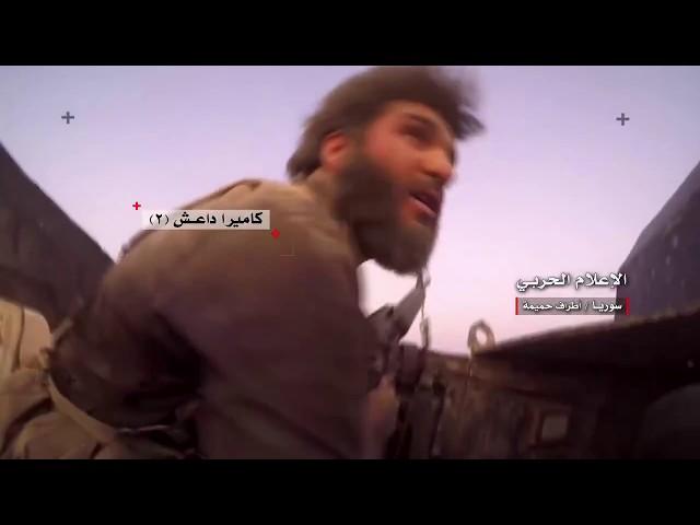 ЖЕСТЬ! Сирия! Русские и сирийцы подорвали авто с кричащими ИГИЛАми  прямым попаданием.