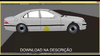 FISICA DE CARRO REALISTA - GAME REALISTA BLEMDER (DOWMLOAD)