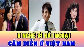 Chân Dung 6 Nghệ Sĩ Hải Ngoại Bị Cấm Diễn Ở Việt Nam