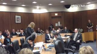 Julie Rowe, Jane Bashara's Sister, Deliver Her Last Comments To Bob Bashara At His Sentencing.
