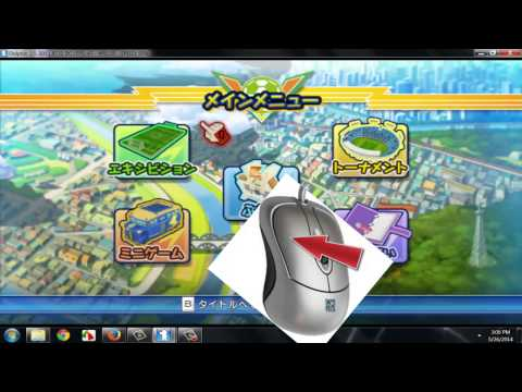 How To Play Inazuma Eleven Strikers Pc Tutorial + Download Link Games video